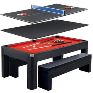 Park Avenue 7-foot Pool Table Combo Set|https://ak1.ostkcdn.com/images/products/9407970/P16595920.jpg?impolicy=medium