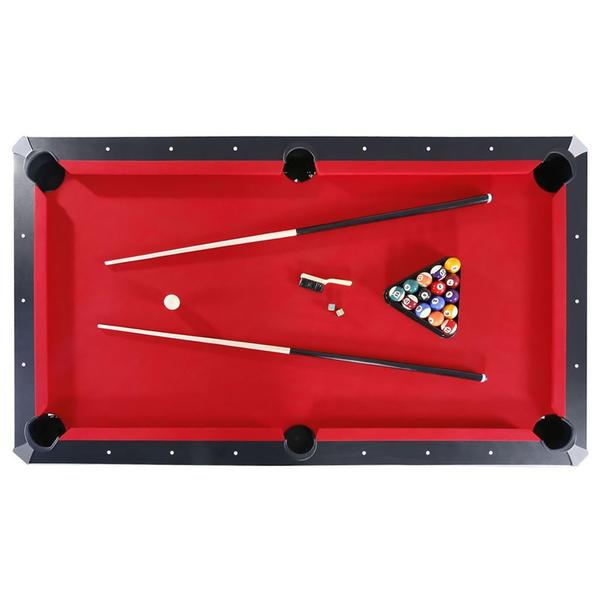 Park Avenue 7 Foot Pool Table Combo Set   Free Shipping Today    Overstock.com   16595920