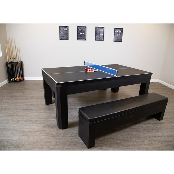 Wondrous Park Avenue 7 Foot Pool Table Tennis Combination With Dining Andrewgaddart Wooden Chair Designs For Living Room Andrewgaddartcom