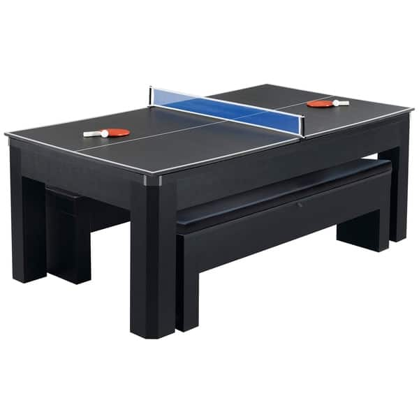 Shop Park Avenue 7 Ft Pool Table Combo Set W Benches Free