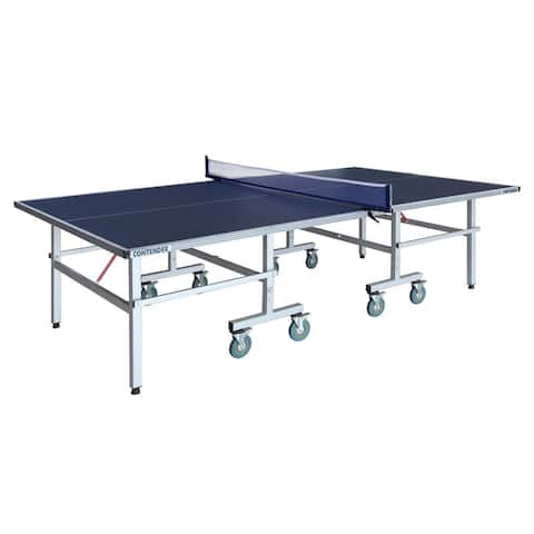 Contender Outdoor Table Tennis Table - Blue