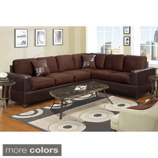 Palermo Corner Sectional with Free Accent Pillows
