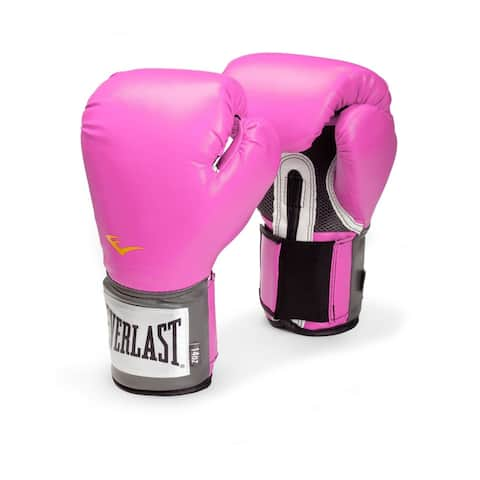Everlast Pro Style Women's Pink Training Gloves