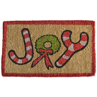 Christmas Joy Coir Doormat