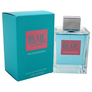 Banderas Blue Seduction Women's 6.75-ounce Eau de Toilette Spray
