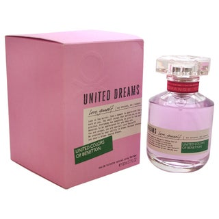 Benetton United Dreams Love Yourself Women's 2.7-ounce Eau de Toilette Spray
