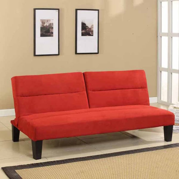 Microfiber Fabric Klik Klak Sleeper Sofa