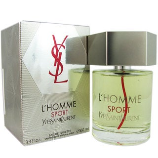 Yves Saint Laurent L'Homme Sport Men's 3.3-ounce Eau de Toilette Spray