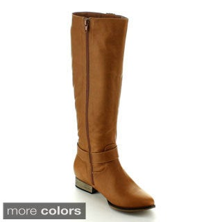 Machi Women's 'Carison-2' Knee-high Riding Boots