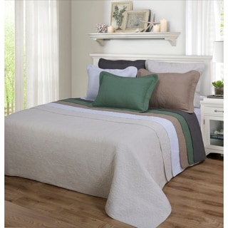 Superior Corrington 100-percent Cotton 3-piece Quilt Set