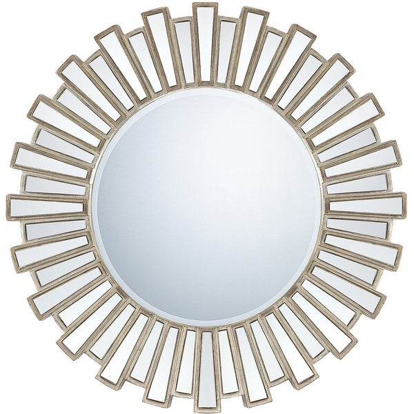Quoizel Bathroom Mirrors quoizel reflections gwyneth large mirror - free shipping today