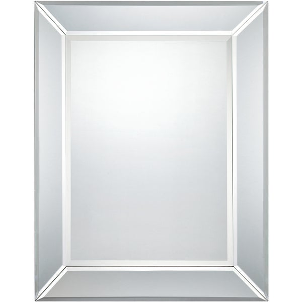 Quoize Reflections Carrigan Small Mirror - White