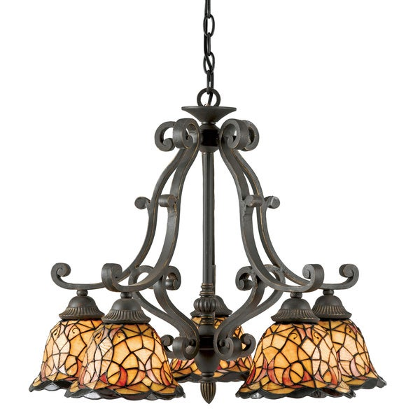 tiffanystyle monaco light imperial bronze dinette chandelier, Lighting ideas