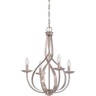Serenity 4-light Italian Fresco Chandelier
