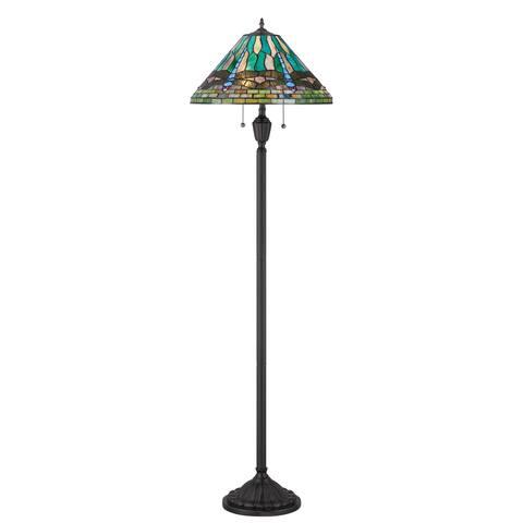 Quoizel King 2-light Vintage Bronze Floor Lamp