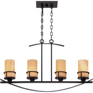 Kyle 4-light Imperial Bronze Island Chandelier