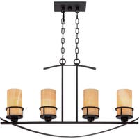 Quoizel Kyle 4-light Imperial Bronze Island Chandelier