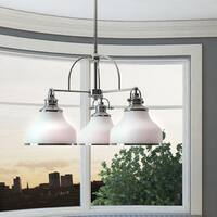 Quoizel Grant 3-light Dinette Chandelier with Glass Shades