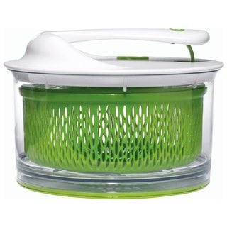 Chef'n 104-091-011 Small Salad Spinner, Meringue with Arugula Basket