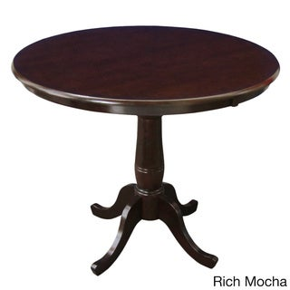 36-inch Round Top Pedestal Table