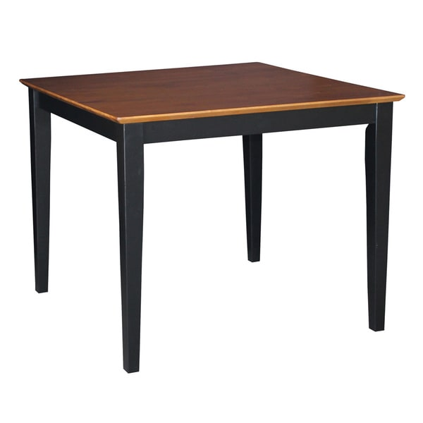 Two tone Black  Cherry Wood Table. Two tone Black  Cherry Wood Table   Free Shipping Today