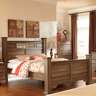 Signature Design by Ashley Allymore Brown Poster Bed