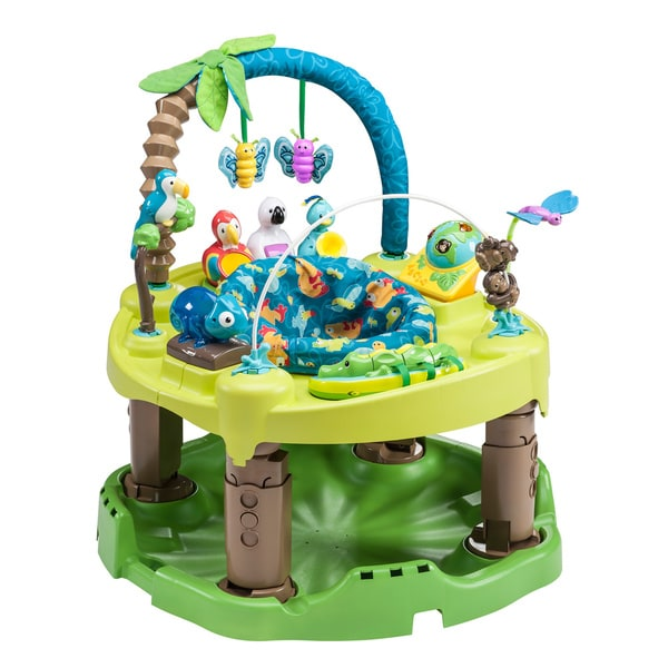 4aaca1643 Shop Evenflo ExerSaucer Life in the Amazon Triple Fun Saucer - Free ...