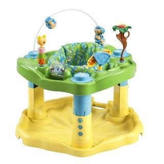 Evenflo ExerSaucer Bounce & Learn Center in Beach Baby