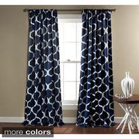 Clay Alder Home Mahned Geometric Blackout 84-inch Curtain Panel Pair - 84 x 52