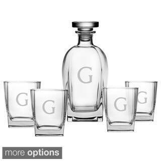 Personalized Luigi Bormioli 5-piece Decanter/ Glasses Set https://ak1.ostkcdn.com/images/products/9408681/P16596650.jpg?impolicy=medium