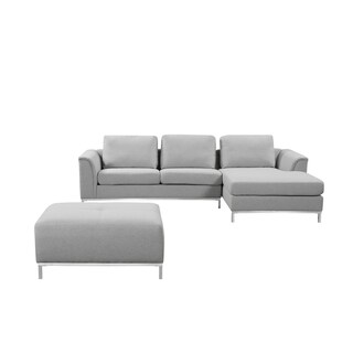 Modern Fabric Upholstered Sectional Sofa - OLLON (2 options available)