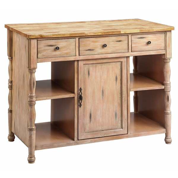 robard wood top kitchen island free shipping today