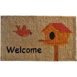 Birdhouse Coir Doormat
