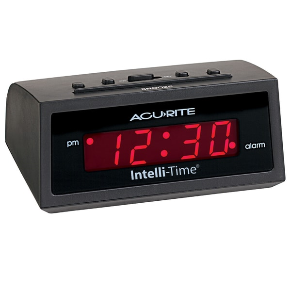 AcuRite 5 Intelli-Time Alarm Clock
