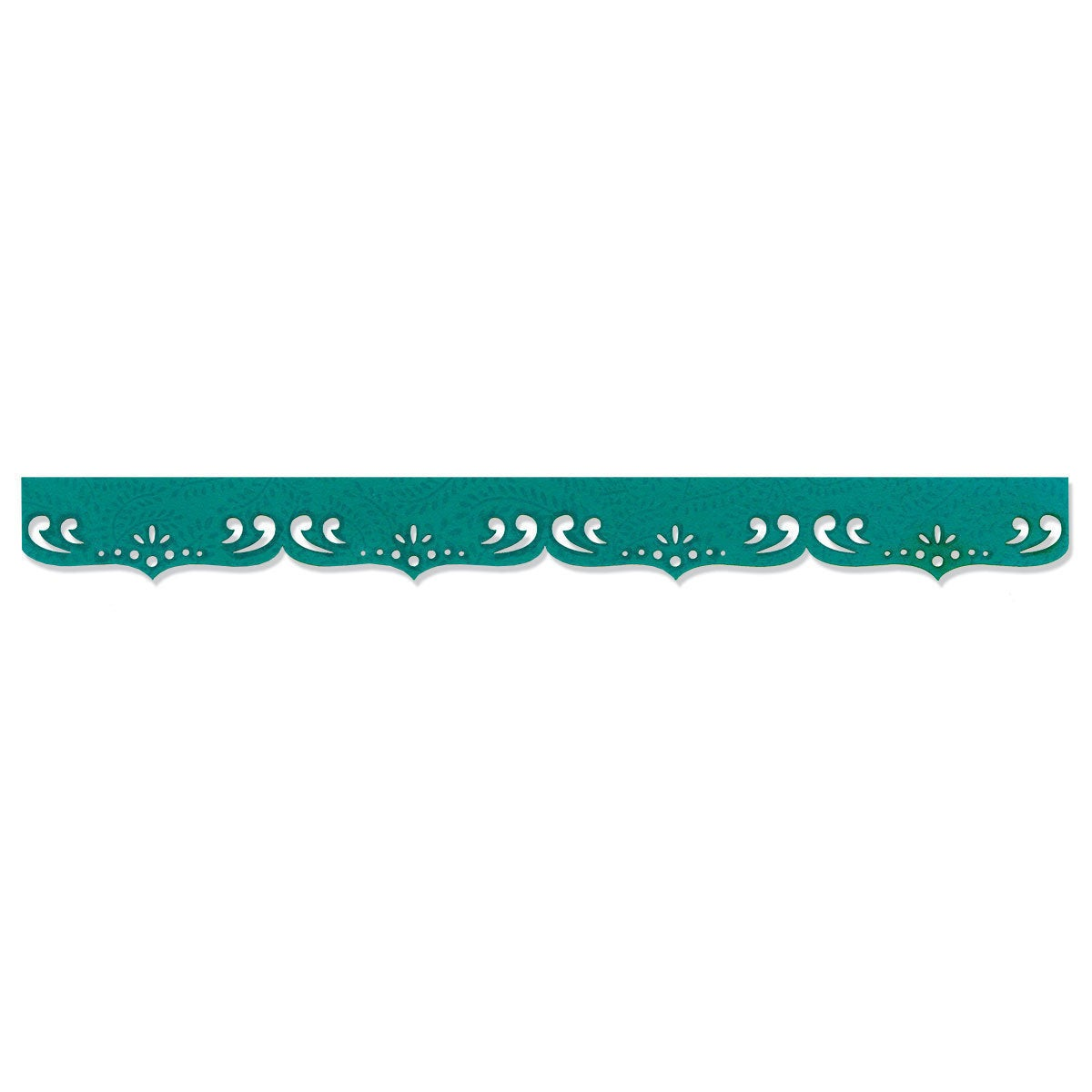 Sizzix Sizzlits Fancy Scallops Decorative Strip Die by De...