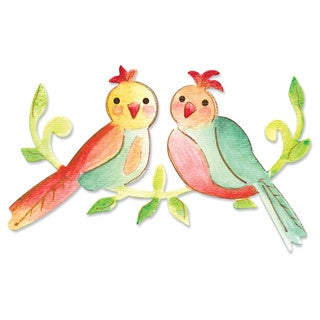 Sizzix Bigz Die Love Birds by Dena Designs