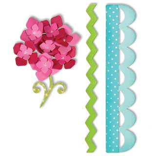 Sizzix Bigz Borders and Hydrangeas Die by Eileen Hull