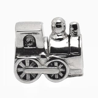 De Buman Sterling Silver Train Charm Bead|https://ak1.ostkcdn.com/images/products/9409645/P16597483.jpg?impolicy=medium