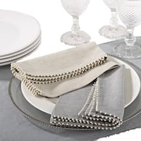 Pearl Design Napkin (set of 4)