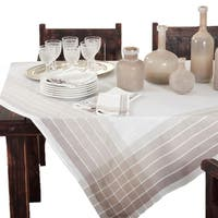 Striped Design Tablecloth