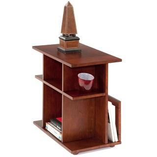 Birch Wood Veneer Chairside Table