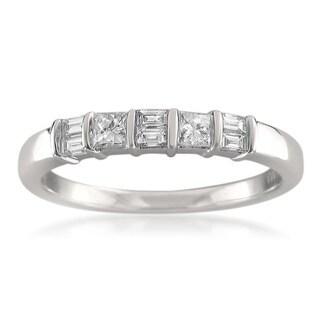 Link to Montebello 14KT White Gold 3/8ct TDW Diamond Wedding Band Similar Items in Wedding Rings