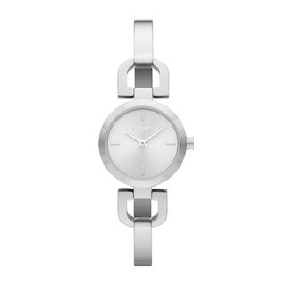DKNY Women's NY8540 Silvertone Bangle Watch