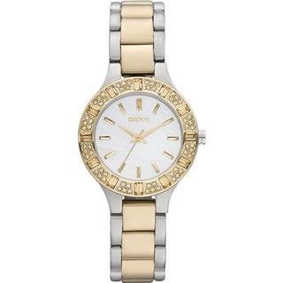 DKNY NY8742 Women's Two-tone Stainless Steel Bracelet Watch