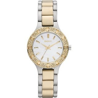DKNY NY8742 Women's Two-tone Stainless Steel Bracelet Watch