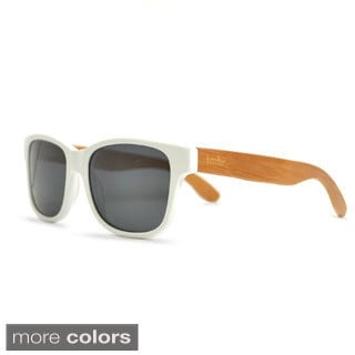 Timber Unisex Matte White Sunglasses