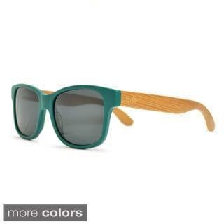 Timbr Unisex Matte Teal Sunglasses