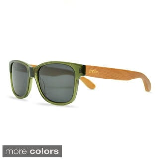 Tmbr. Bambo Men's Womens Wayfarer Style Green Sunglasses
