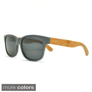 Tmbr. Rayon from Bamboo Style Unisex Matte Grey Sunglasses|https://ak1.ostkcdn.com/images/products/9409765/P16597625.jpg?impolicy=medium