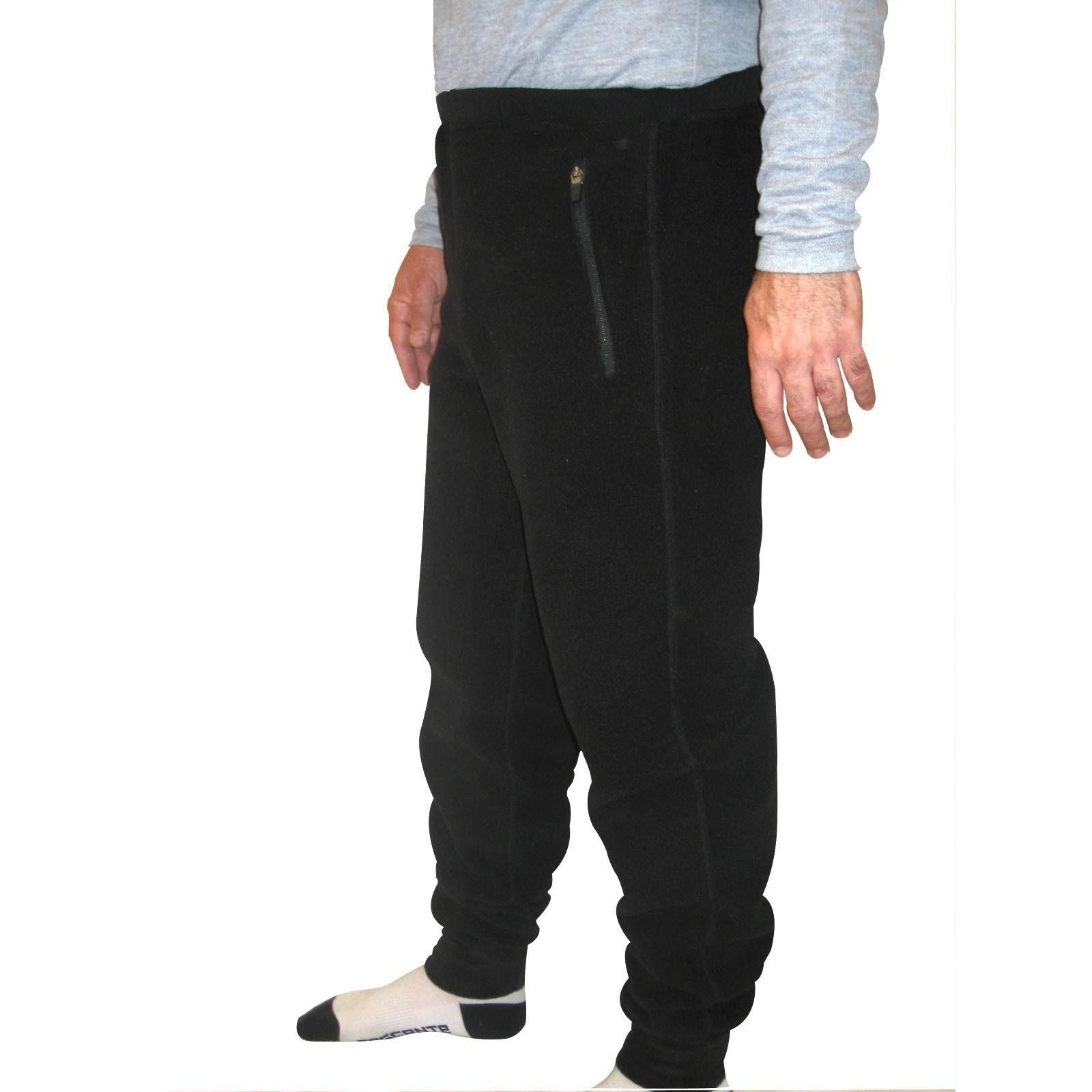 Spiral Men S Polartec 200 Fleece Pants 30 Inch Inseam Overstock 9409773 Extra Large